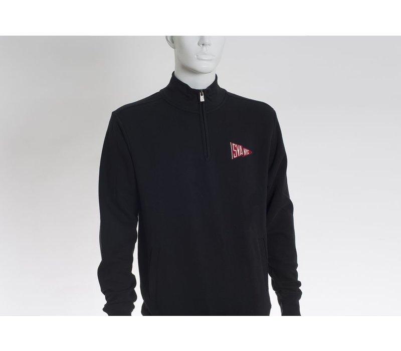 SVA Pennant 1/4 Zip Up Stadium Sweatshirt