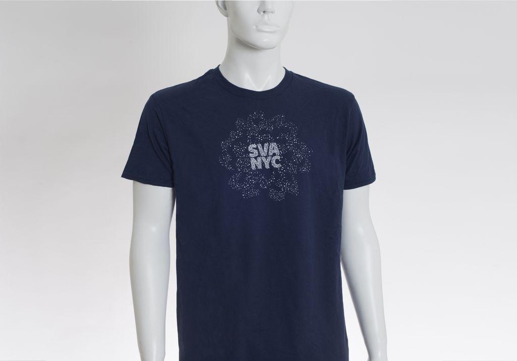 Sva Star Logo Glow In The Dark T Shirt Sva Campus Store
