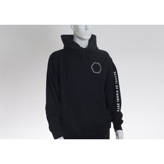 SVA Flower Outline Hoodie w/ Back Print
