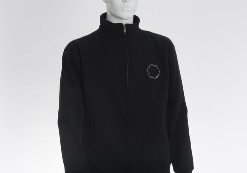 Interrupted Flower Outline Logo Full-Zip Warmup