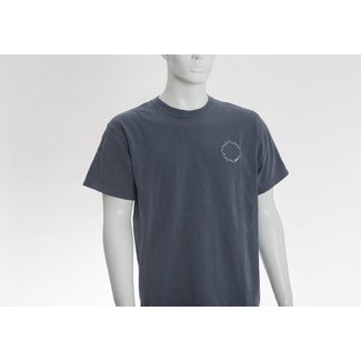 Interrupted Flower Outline Logo T-Shirt