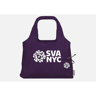 SVA Logo Chico Vita Bag - Purple