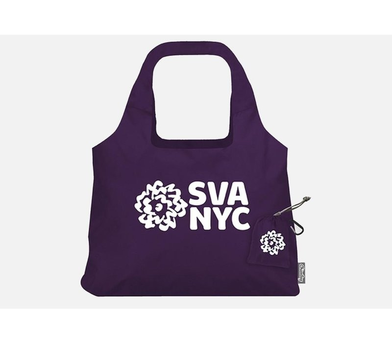 SVA Logo Chico Vita Bag - Purple