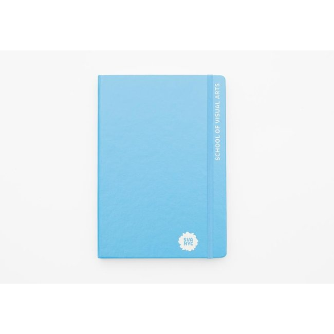 SVA Engraved Leuchtturm Sketchbook - Blue