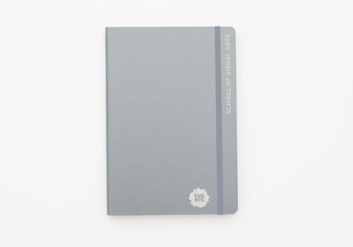 SVA Engraved Leuchtturm Red Dot Notebook - Gray