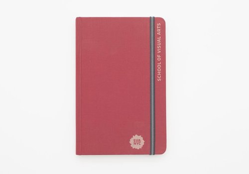 SVA Engraved Handbook Sketchbook (Red)