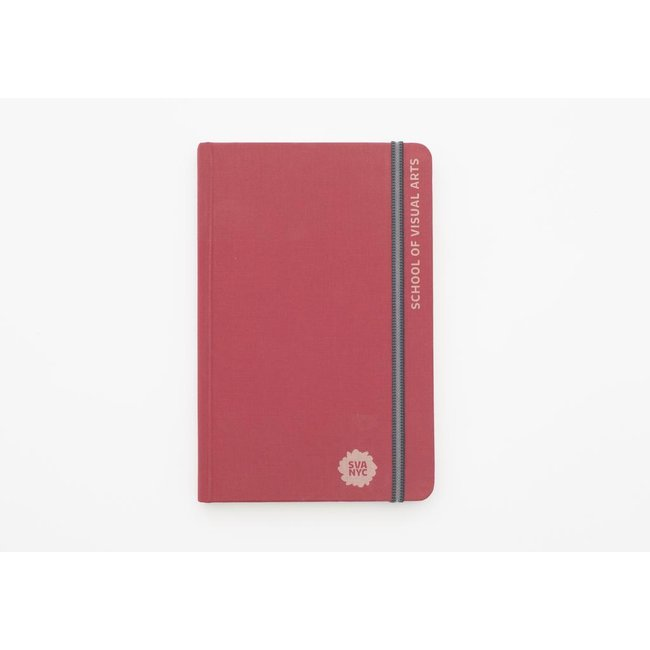 SVA Engraved Handbook Sketchbook - Red