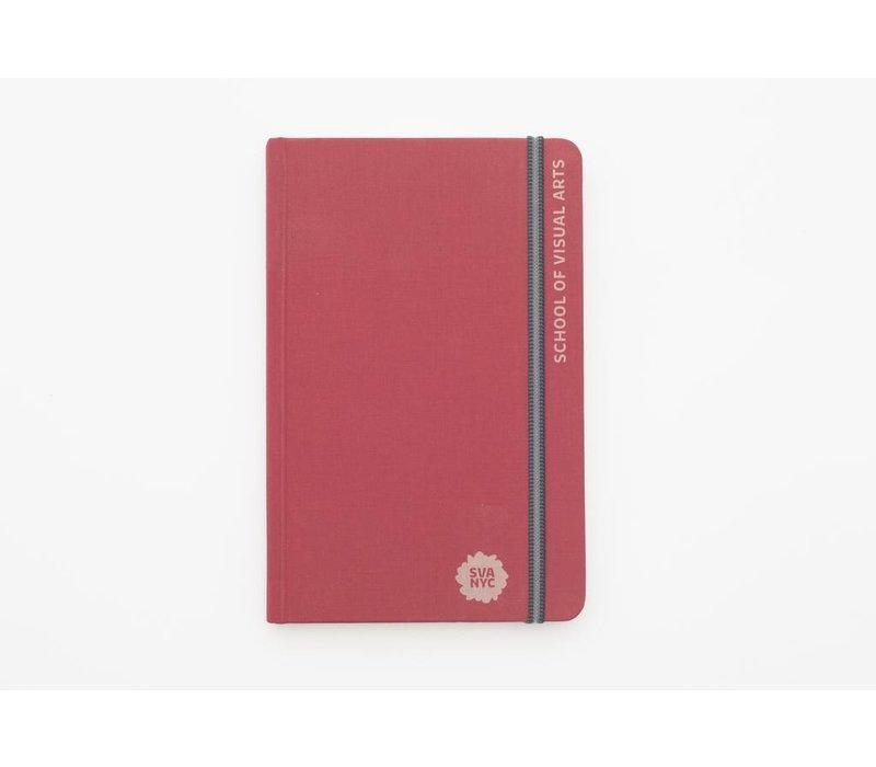 SVA Engraved Handbook Sketchbook - Red