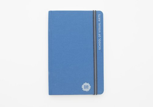 SVA Engraved Handbook Sketchbook - Blue