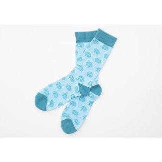 SVA Flower Socks - Blue