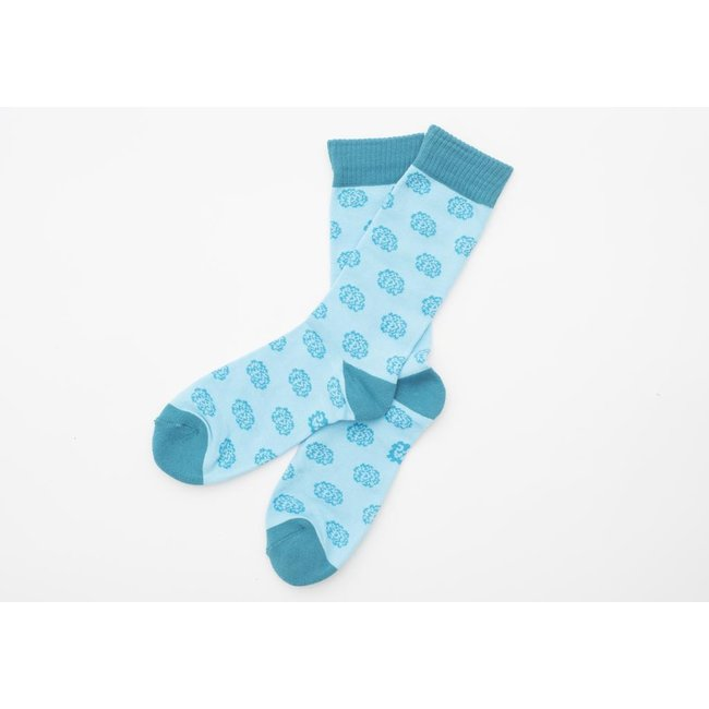 SVA Flower Socks - Blue