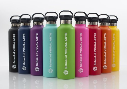 Drink - H2O SVA Logo h2go Ascent Water Bottle (Multiple Colors)