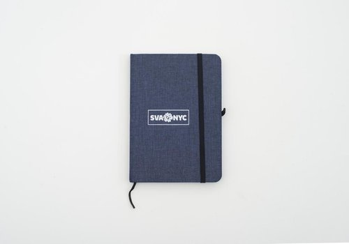 Notebook SVA Box Logo Stockford Journal - Blue