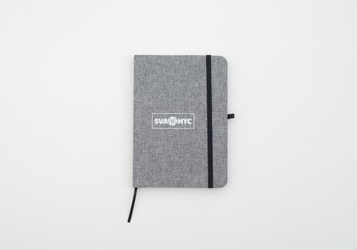 Notebook SVA Box Logo Stockford Journal - Gray