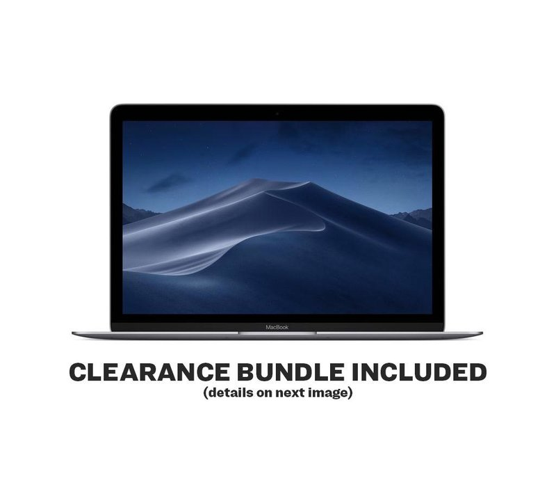 """MacBook 12"""" - 1.3GHz - 8GB - 512GB - Space Gray (Mid-2017)"""