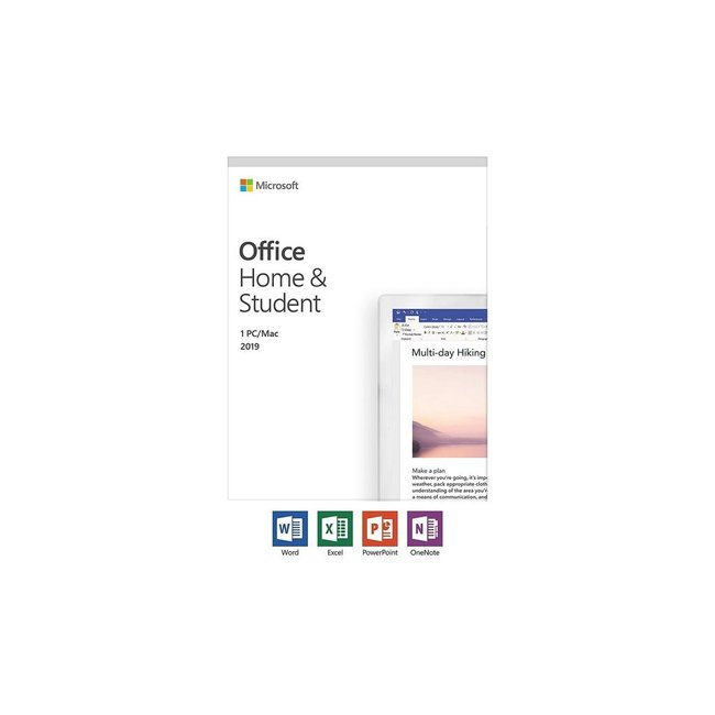 Microsoft Office 2019 Home & Student 1 Mac/PC