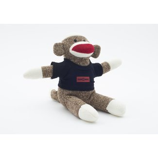 SVA Box Logo Sock Monkey