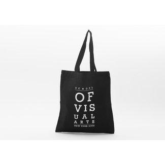 SVA Eyechart Tote - Black