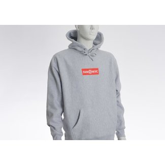 SVA Embroidered Box Logo Hoodie
