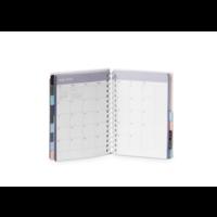 18M Medium Pocket Book Planner, 2019-20 (Dark Gray)