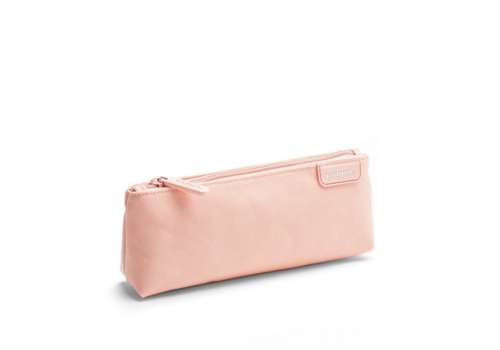 Poppin Blush + Light Gray Pencil Pouch