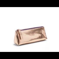 Poppin Copper + Purple Pencil Pouch