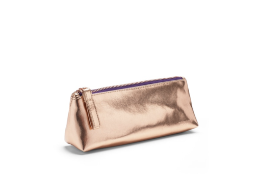 Poppin Copper + Purple Pencil Pouch