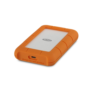 2TB - LaCie Rugged USB 3.1 External Hard Drive