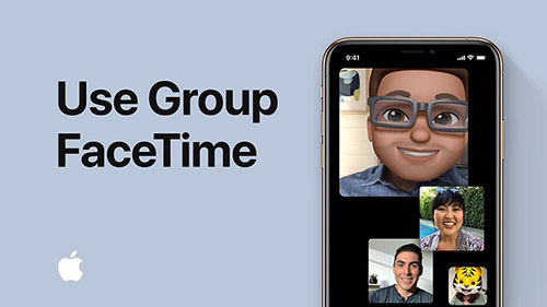 Stay in touch with Group FaceTime