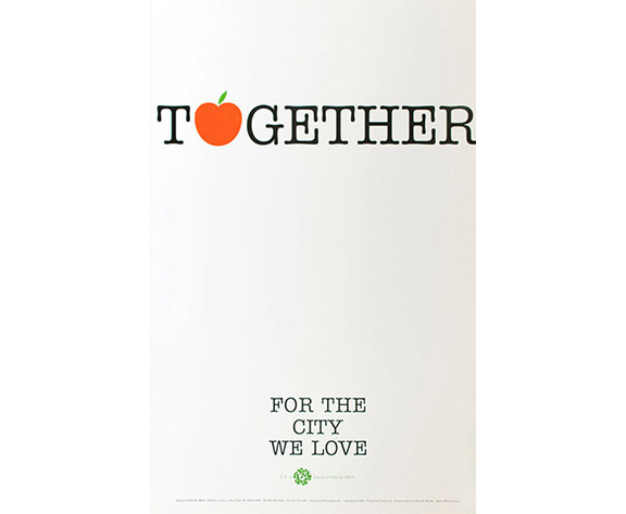 "SVA Subway Poster - ""Together"""