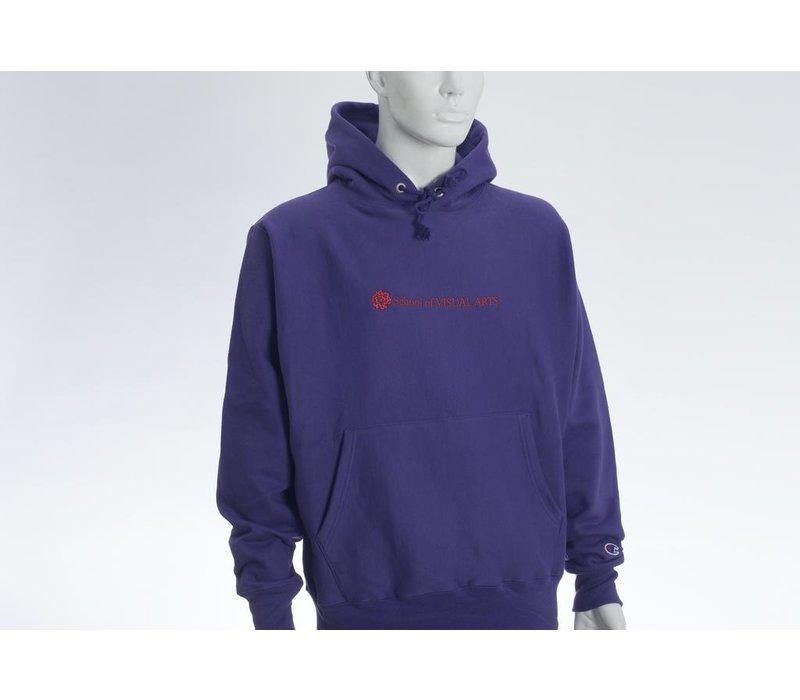 SVA Classic Logo Champion Reverse Weave Hoodie (Multiple Colors)
