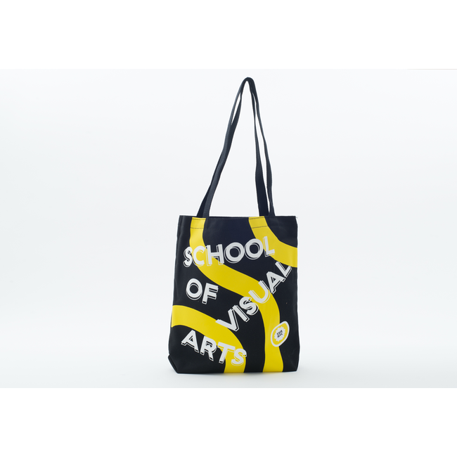 SVA Black + Yellow Tote