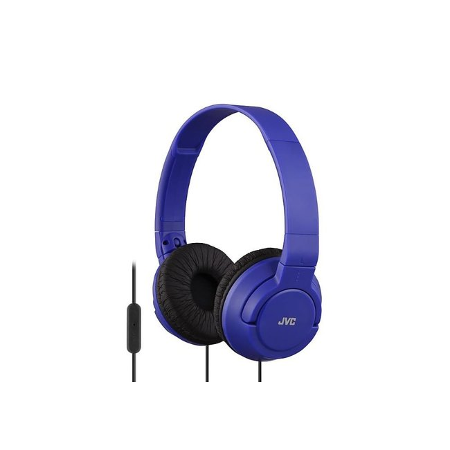 JVC BassHeadband Headphones (Blue)