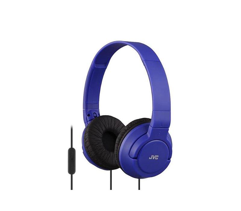 JVC BassHeadband Headphones (Blue)
