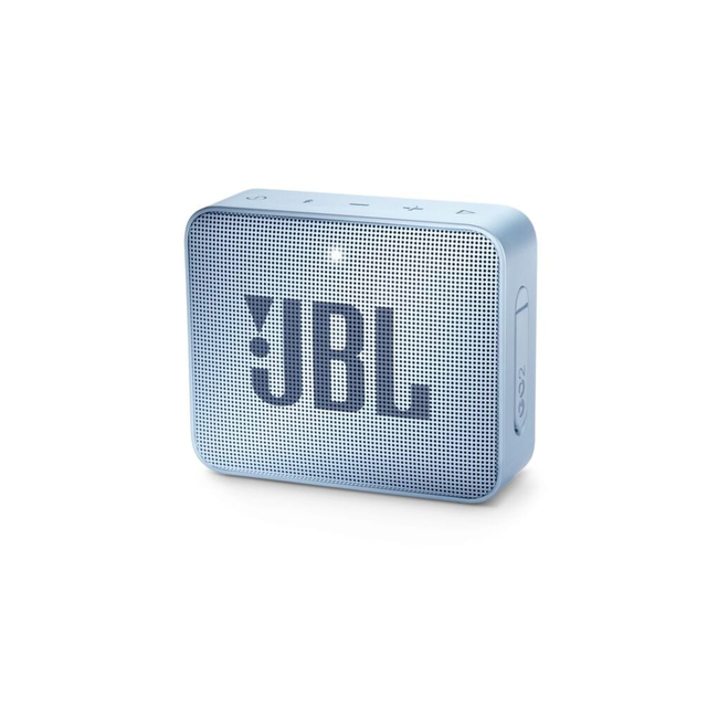 JBL GO 2 Wireless Speaker (Cyan)