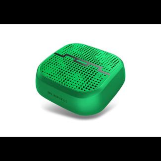 portable Sol Republic Punk Speaker (Green)