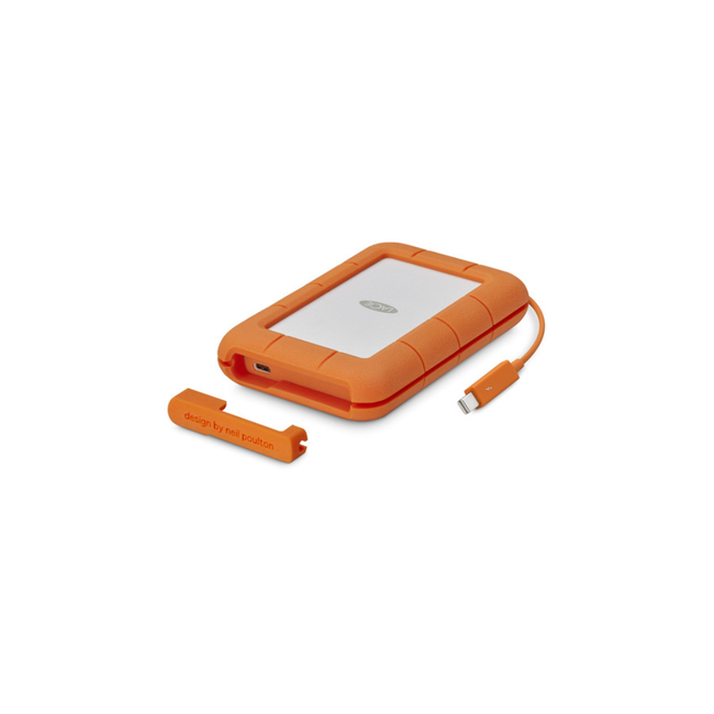 2TB LaCie Rugged USB-C Hard Drive