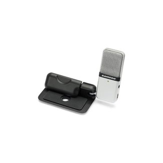 Samson Compact Clip-On USB Mic Silver