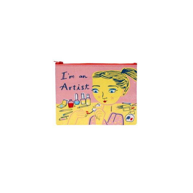 Blue Q - I'm In Artist Zipper Pouch