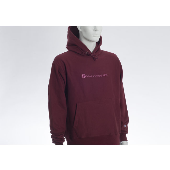 SVA Classic Logo Champion Reverse Weave Hoodie (Multiple Colors)