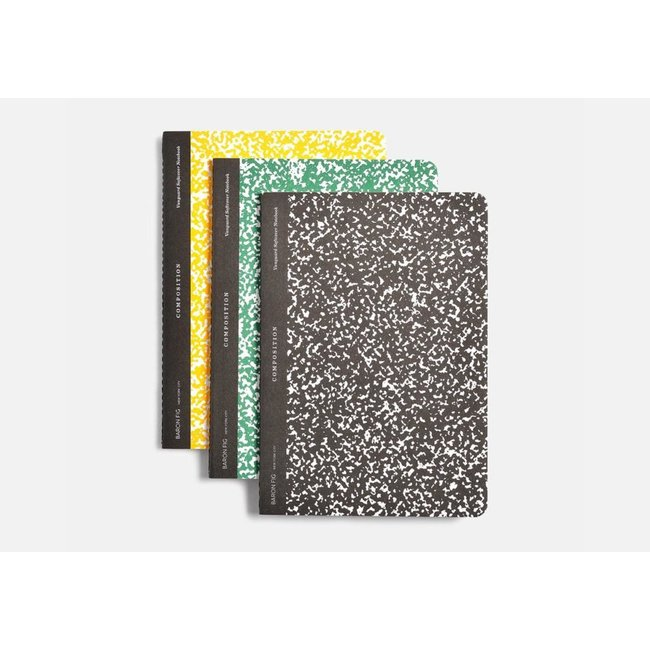 BaronFig Composition Notebook Set