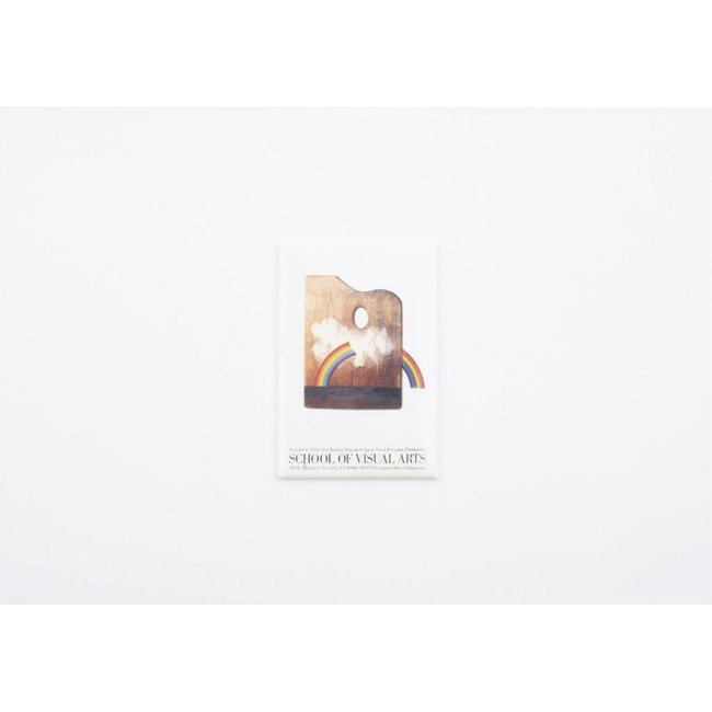 Milton Glaser - Palette Poster Magnet