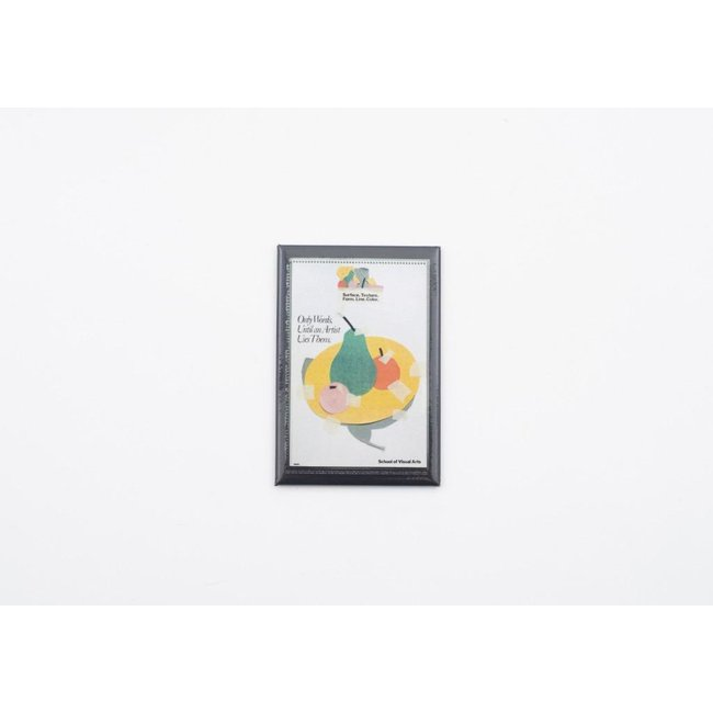 Milton Glaser - Only Words Poster Magnet
