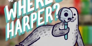 Where's Harper? Contest