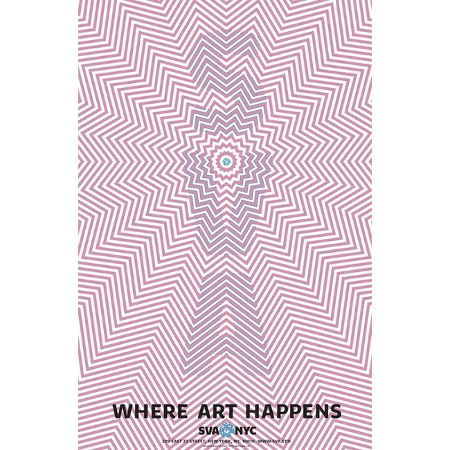 Mirko Ilic - Where Art Happens (Pink)