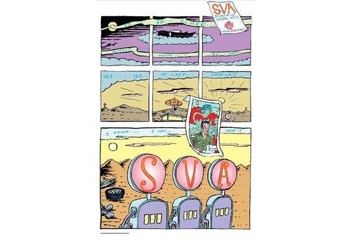 David Sandlin - Gas Pump (Small Poster)