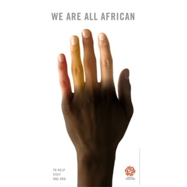 Milton Glaser - We Are All African