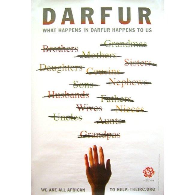 Milton Glaser - Darfur