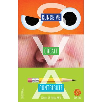 Gail Anderson - Conceive, Create, Contribute (Small Poster)