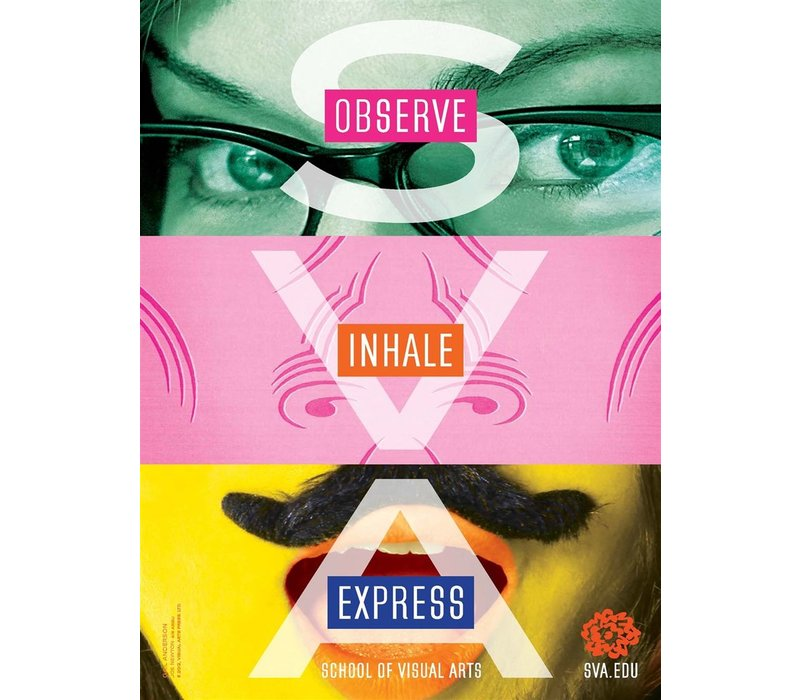 Gail Anderson - Observe, Inhale, Express (Small Poster)